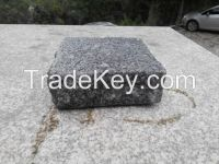 Cobbles granite gray sandblasted