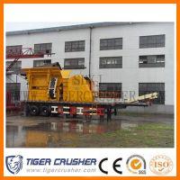 China Good Performance Wheeled Jaw Crusher/Mobile Jaw Crusher