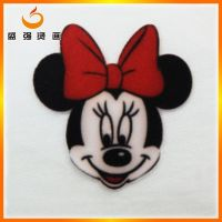 new design flocking heat transfer made in China 2015