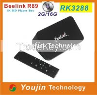 Beelink R89 2G 16G Latest Smart TV Box with Google Android 4.4 RK3288