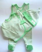 Organic cotton baby set