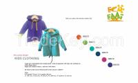 Kids jacket, kids hoodie, cotton fleece jacket