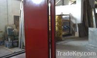 Industrial soundproof door