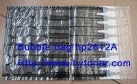 Black Bubble Bag Used on HP Q2612A Toner Cartridge