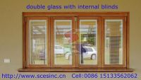 Insulating glass with inserted blinds, Blinds in double glass