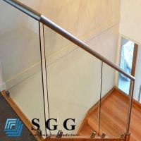 Best Supply clear toughened glass balustrade