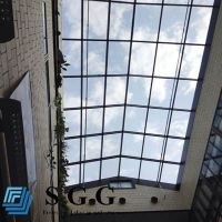 Best Supply clear tempered ceiling glass