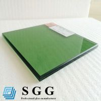Best Supply green laminated glass