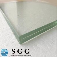 Best Supply clear laminated glass, thickness 3+3, 4+4, 5+5, 6+6