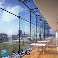 Best Supply tempered curtain wall glass