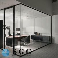Best Supply clear toughened partition glass