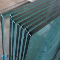 Good quality 10mm 12mm Tempered Glass Price Per Square Metre