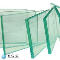 Good quality 12mm temper clear flat glass with CE