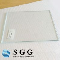 Top quality 6mm low iron glass
