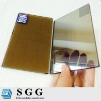 Top quality 4mm bronze reflective glass