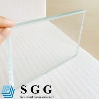 Top quality 10mm low iron glass