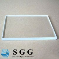 Top quality 12mm low iron glass
