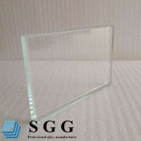 Top quality 8mm low iron glass