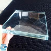 Top quality 15mm low iron glass