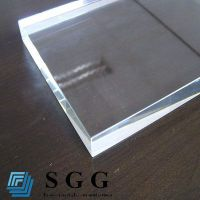 Top quality 15mm extra clear float glass