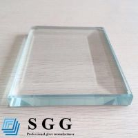 Top quality 19mm low iron glass