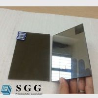 Top quality 4mm light gray reflective glass