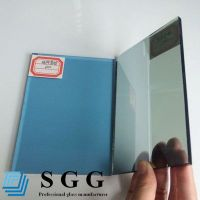 Top quality 5mm blue reflective glass