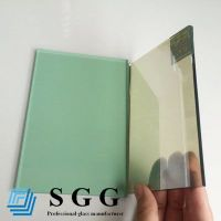 Top quality 5mm green reflective glass