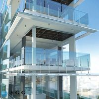 good quality low price architectural handrails glass