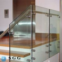 Good quality stair guard railing glass