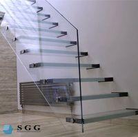 Good quality building glass stair railings
