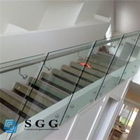 Good quality house railing glass for stairs