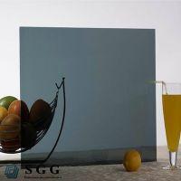Top quality 4mm dark grey reflective glass