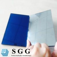Top quality 4mm blue reflective glass