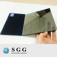 Top quality 5mm grey reflective glass