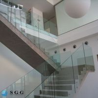 good quality low price glass panels for stairs