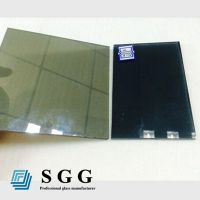 Top quality 4mm gray reflective glass