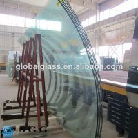 Hot sell bent tempered glass