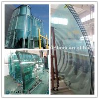 High quality curve building tempered glass