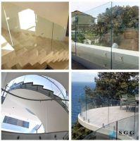 Hot sell tempered glass balusters
