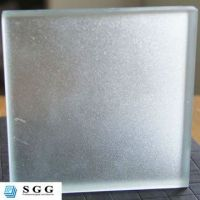 High quality frosted laminated glass