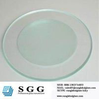 48 round glass table top