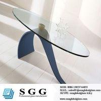 custom glass table top