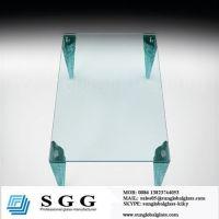 custom table glass top