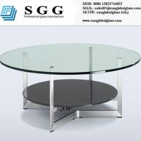 60 round glass table top