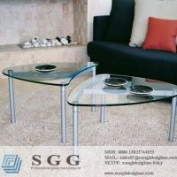 table top glass prices