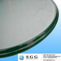 42 round glass table top