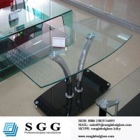 custom size glass table top