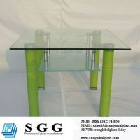 custom glass top for dining table