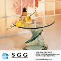 20 round glass table top